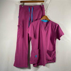 Carharrt Force Scrub Top and Pants